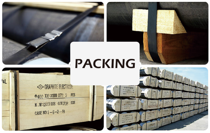 Graphite Electrode packaging